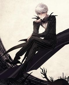 Jack Frost as Jack Skellington oh hell yes!!!