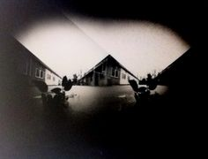 Double pinhole Photography