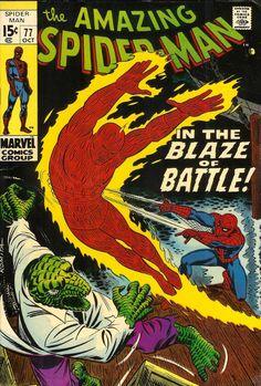 COMIC amazing spiderman 77 #comic #cover #art