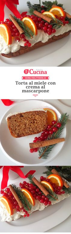 Torta al miele con crema al mascarpone della nostra utente Magdalena. Unisciti alla nostra Community ed invia le tue ricette!