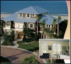 Bahama shutters look great on coastal homes
