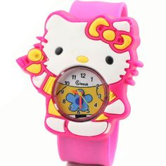 Brilliant Hot Sale Fashion Kids Watch Cartoon Watch Children Student Silicone Waterproof Quartz Wristwatch Slap Cute Gift Watches