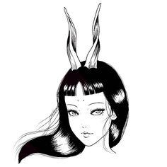 Arte Horror, Horror Art, Ero Guro, Junji Ito, Fanarts Anime, Another Anime, Manga Artist, Dark Anime, Aesthetic Anime