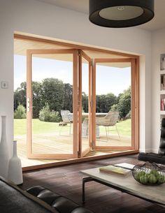 Puerta madera clara
