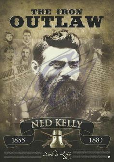 Iron Outlaw Grim Reaper Tattoo, Ned Kelly, Australian Men, Lion Art, Cowboy Art, Dont Tread On Me, Guy Drawing, World Photography, Historical Pictures