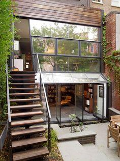 dom na cienka wąską dzialke w miescie 16 - Architekt o Architekturze i wyjątkowych projektach.