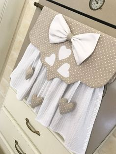 Baby Wedding Outfit, Kitchen Towels Hanging, Dish Towel Crafts, Felt Games, Towel Dress, Diy Kitchen Projects, Wardrobe Design Bedroom, Kitchen Decor Themes, Sewing Projects For Beginners