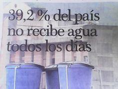 Falta de agua potable en Venezuela 2015