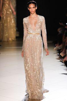 Elie Saab Fall 2012 Couture Fashion Show - Cora Emmanuel (Elite)