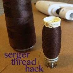 I recently participated in a charity sewing event, and I brought my serger to use for the day. I was so amused by my fellow sewists' reactions to my conebobbinspools of thread that I had to c…