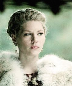 Lagertha via Vikings on the History Channel