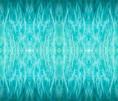 Amazonite unfolded 1 yardage fabric by lightning_seeds® on Spoonflower - custom fabric