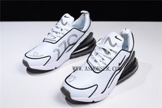 Products Descriptions:  Nike Air Max 270 Flyknit White Black Shoes AH8060-100 For Sale  Tags: Nike Air Max 270, Air Max 270, Air Max 270 Flyknit Model: NIKEAIRMAX270-AH8060-100 5 Units in Stock Manufactured by: NIKEAIRMAX270 Jordans For Men, Jordans Sneakers, Air Max Sneakers, Air Jordans, Nike Air Max For Women, Nike Women, Camo Men, A Bathing Ape, Air Max 270