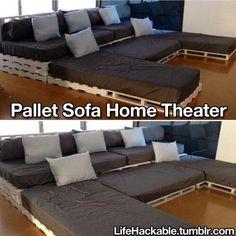 Diy home theatre