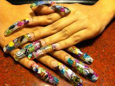 my own nails by YarasNailz - Nail Art Gallery nailartgallery.nailsmag.com by Nails Magazine www.nailsmag.com #nailart