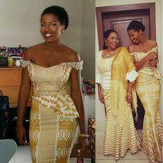 I Do Ghana | Jennifer & mom | Kente wedding | African Fashion