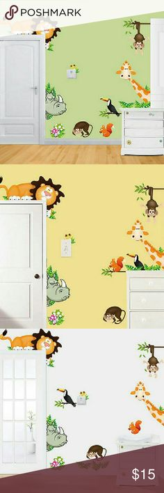 Wall Decals Children's Room Wall Stickers Brand new, high quality wall decal. Long lasting color, won't  fall off or fade. Decorate your room, an ideal way to personalize your home in a very affordable way. Can be applied to any smooth and clean surface such as wall, door, window, plastic, metal, ceramic tile, etc. NOT suitable for dirty or rough surface. #WallDecal #Decals #WallStickers #Family #Kids #Children Accessories