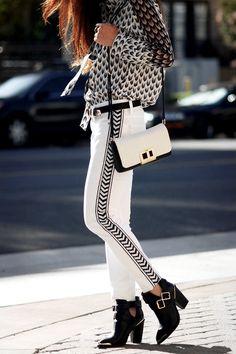 Black And White #trends #fashion #toptof