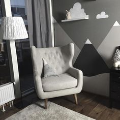 """Caroline Nehring on Instagram: """"A little sneak peak of the nursery finishing it next weekend, gonna do a little nursery tour for the blog when its all done."""""""