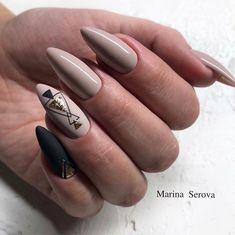 Beautiful Nail Designs To Finish Your Wardrobe – Your Beautiful Nails Beautiful Nail Designs, Cool Nail Designs, Orange Nail Designs, Uñas Fashion, Geometric Nail, Manicure E Pedicure, Nagel Gel, Stylish Nails, Nude Nails