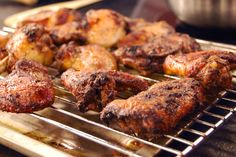 Winter's just around the corner, so heat things up with Rob Rainford's amazing jerk chicken. Jerk Recipe, Jerk Chicken, Allrecipes, Poultry, Barbecue, Delish, Pork, Meat, Cooking