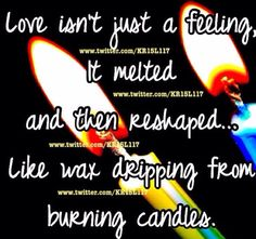Its more than jus a feeling...