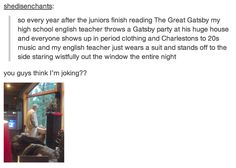Gatsby parties