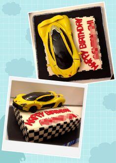 McLaren P1 cake