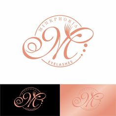 Design logo for luxurious Mink eyelashes by Design Injector