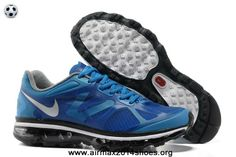 pretty nice a7946 059c9 Authentic Nike Air Max 2012 Mens 487982-400 Soar Metallic Silver Black  Summit White For