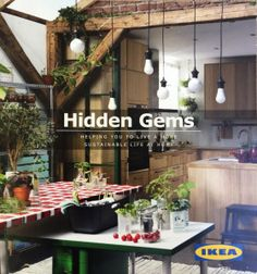 Hidden Gems, Ikea catalogue for sustainable living #livelagom
