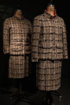 Can you see which one is the original Chanel suit?🕴️ #FashionExhibition #FashionExhibit #FashionHistory #DressHistory #BuyLess #AppreciateMore #ParisCapitalofFashion #MuseumatFIT American Entrepreneurs, Pierre Cardin, French Fashion, Fashion History, Exhibit, Dressmaking, Nyc, Chanel, Suit