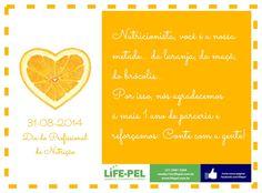 criação de e-mail marketing para comemoração do dia do profissional de nutrição