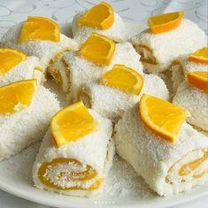 Portakallı Muhallebili Tatlı   Sosyal Tarif