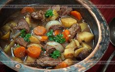 Crock Pot Beef Stew Recipe This crockpot beef stew recipe is a cold weather favorite and the crock pot makes it easy. Easy Stew Recipes, Easy Beef Stew, Venison Recipes, Real Food Recipes, Crockpot Recipes, Cooking Recipes, Game Recipes, Cooking Time, Venison Stew