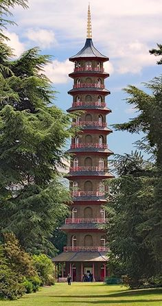 The Kew Pagoda at Ke