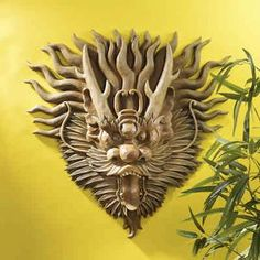 Exotic Wall Masks from the Basil Street Gallery