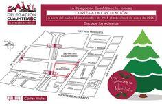 Llega romería navideña a la Delegación Cuauhtémoc con menor afectación vial y vecinal