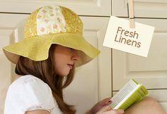 tutorial chapéu de verão