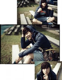 KIM BUM IN SINGAPORE FEATURED IN THE MAY ISSUE OF ESQUIRE KOREA