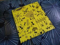 Warli wrapping paper by Tulika publishers
