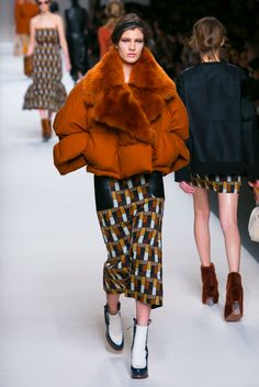 A look from the Fendi Fall 2015 RTW collection.