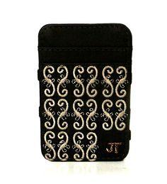 JT Magic Wallet Magestic Color: Beige and Brown #couro #bordado #fashion #accessories #moda #style #design #acessorios #leather #joicetanabe #carteira #carteiramagica #courolegitimo #wallet