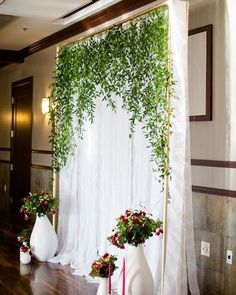 Lovely #photobooth #backdrop at this #reception! Photo via #ruffledblog