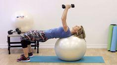 Programme de 10 exercices de tonification sur ballon! Canoe, Toning Exercises, Stay Fit, Physical Exercise, Program Management