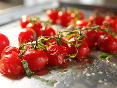 Roasted Vine Tomatoes Recipe from Barefoot Contessa #inagarten