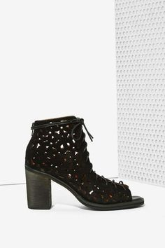 Jeffrey Campbell Cors Bootie - Black - Ankle Shoes Boots Ankle 0d080795bc170