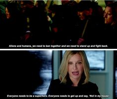 """""""You have some to the wrong town....yeah I'm Cat Grant...not going anywhere"""""""