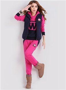 S-4XL Women's Fleece Hoodie Outwear Thicken Coat | Fleece Hoodie ...