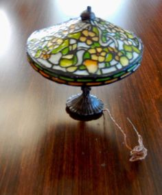 Barbara and Lew Kummerow, IGMA Artisans - Tiffany lamp